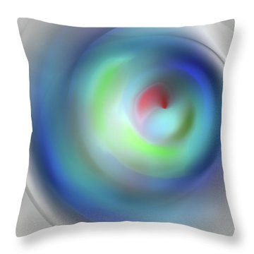 Peaceful Birth Throw Pillow