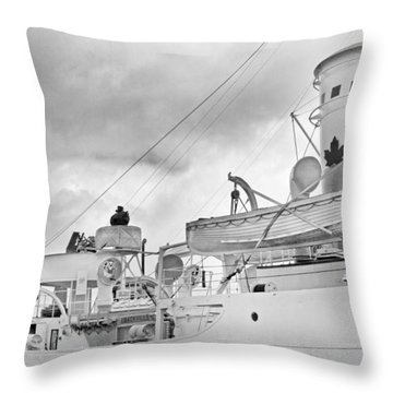 Peaceful  Throw Pillow by Betsy Knapp