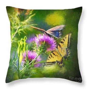Peaceful Easy Feeling Throw Pillow