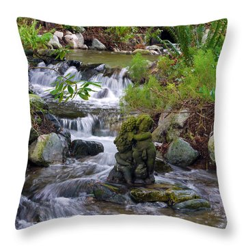 Throw Pillow featuring the photograph Moments That Take Your Breath Away by Jordan Blackstone