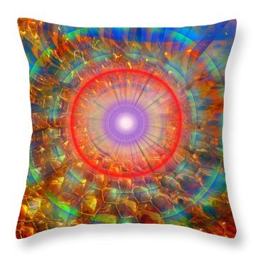 Peaceful Harmony Throw Pillow by Michael Durst