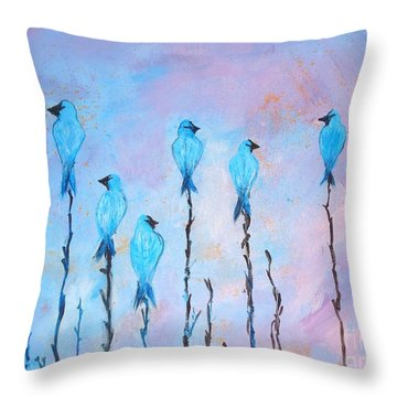 Peaceful Morning Limited Edition Prints 6 Of 20 Throw Pillow