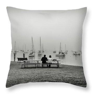 Peaceful Morning Throw Pillow