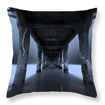 Throw Pillow featuring the photograph Peaceful Pacific by Mihai Andritoiu
