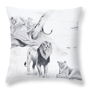 Peaceful Pride Throw Pillow