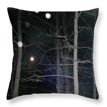 Throw Pillow featuring the photograph Peaceful Spirits Passing by Pamela Hyde Wilson