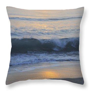 Peaceful Sunset Throw Pillow