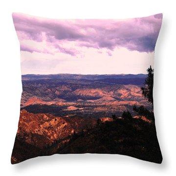 Throw Pillow featuring the photograph Peaceful Valley by Matt Harang
