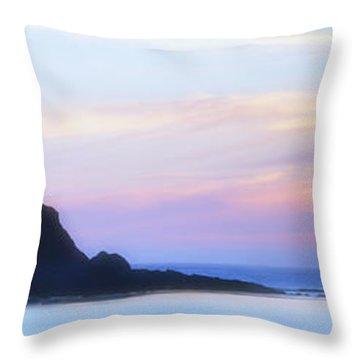 Peacefull Hues Throw Pillow by Mark Kiver