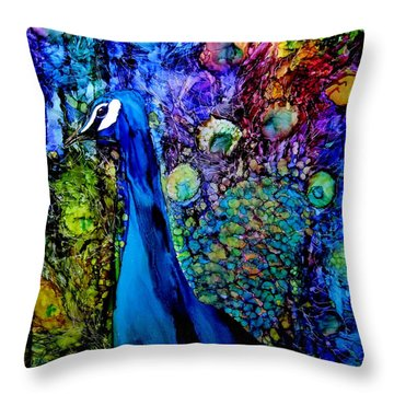 Ink Throw Pillows