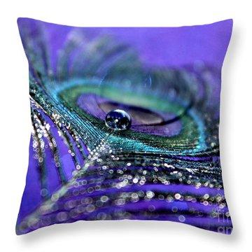 Peacock Spirit Throw Pillow