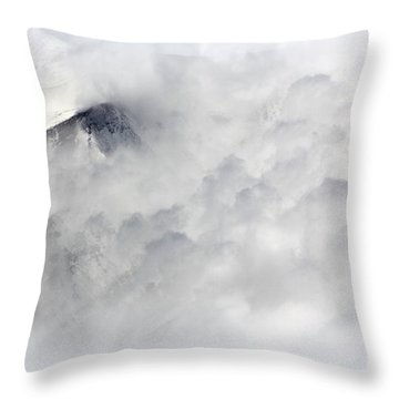 Peak A Boo Throw Pillow