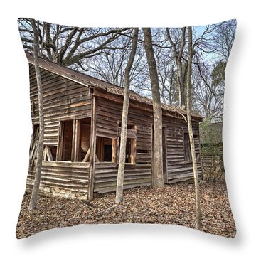 Peak Ruins-1 Throw Pillow