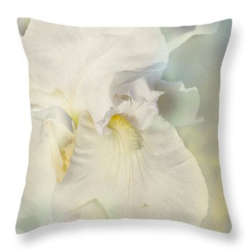 Throw Pillow featuring the photograph Pearl by Elaine Teague