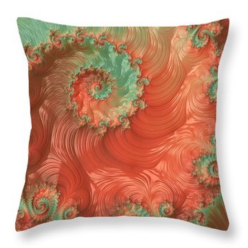 Pearls Of The Southwest Throw Pillow