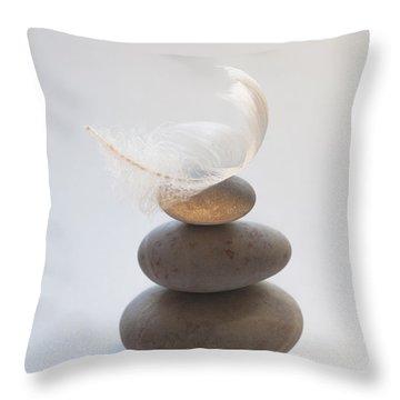 Pebble Pile Throw Pillow