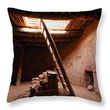 Pecos Kiva Ladder Throw Pillow