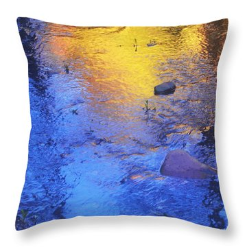 Pecos Reflection Throw Pillow
