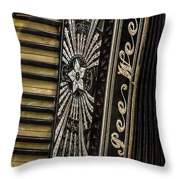Pee Wee Accordion Throw Pillow