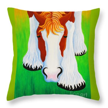 Peek Throw Pillow
