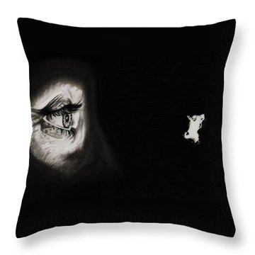 Peeping Tom - Psycho Throw Pillow