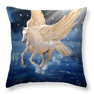Pegasus Digital Art By Babette Van Den Berg