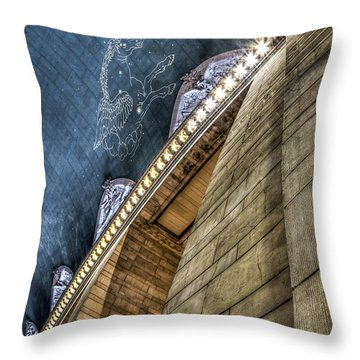 Throw Pillow featuring the photograph Pegasus by Rafael Quirindongo