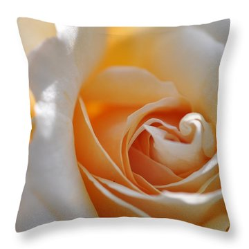 Throw Pillow featuring the photograph Pegasus Rose  by Sabine Edrissi