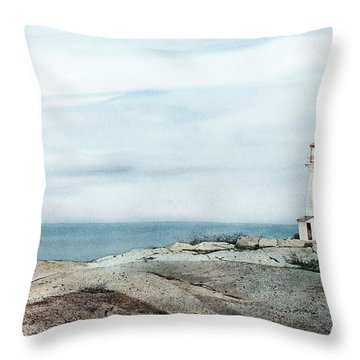 Peggy's Light Throw Pillow