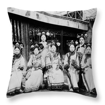 Peking Palace Women Throw Pillow by Granger
