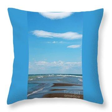 Pelee Throw Pillow by Ann Horn
