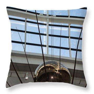Throw Pillow featuring the photograph Pendulum by Patricia Babbitt