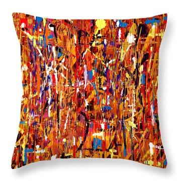 Penman Original - 101 Throw Pillow by Andrew Penman