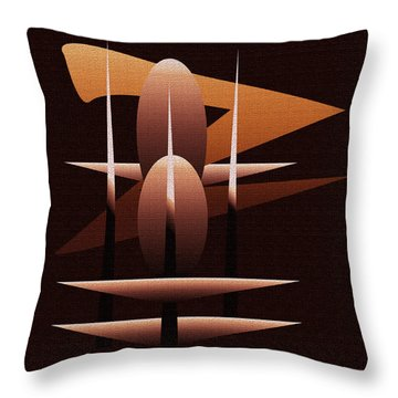 Throw Pillow featuring the painting Penman Original  by Andrew Penman
