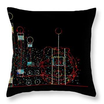 Penman Original - Recycled Art 2 Throw Pillow by Andrew Penman