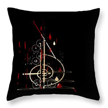 Penman Original - Untitled 96 Throw Pillow by Andrew Penman