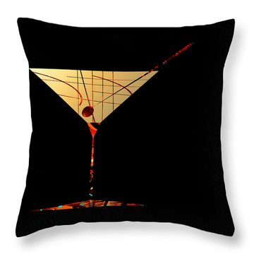 Penman Original - Waiting Throw Pillow by Andrew Penman