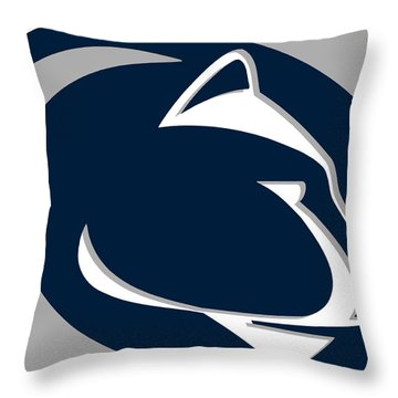 Penn State Nittany Lions Throw Pillow
