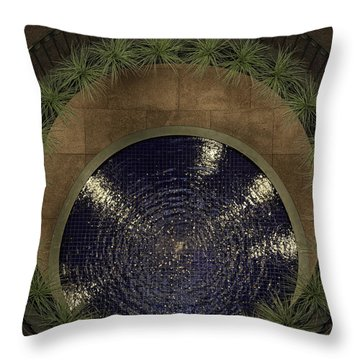Pennies For Your Thoughts Throw Pillow by Lynn Palmer