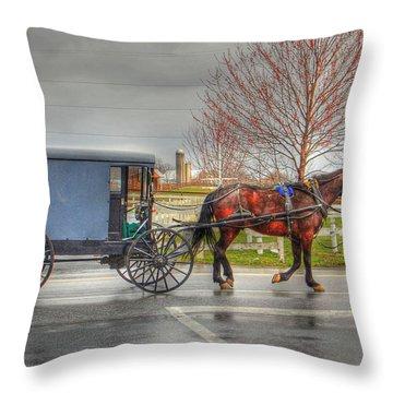 Pennsylvania Amish Throw Pillow