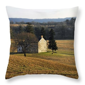 Pennsylvania Throw Pillow by Cindy Manero