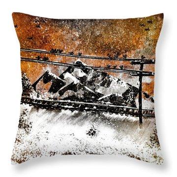 Pennsylvania Coal Country Throw Pillow