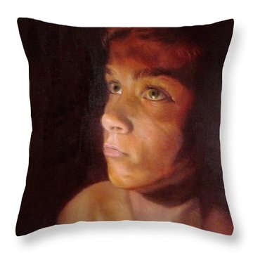 Penumbra Throw Pillow by Cherise Foster