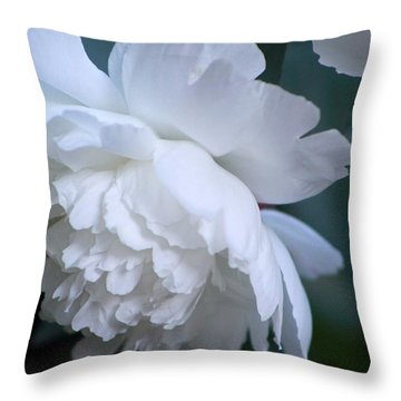 Peony Highlights Throw Pillow