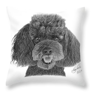 Pepper - 020 Throw Pillow by Abbey Noelle