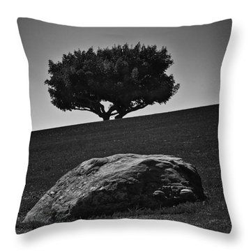 Throw Pillow featuring the photograph Pepperdine University by Joseph Hollingsworth