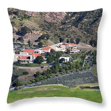 Pepperdine University On A Hill Throw Pillow
