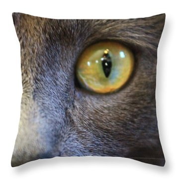 Pepper's Eye Throw Pillow