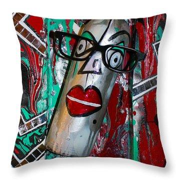 Perception 3 Throw Pillow