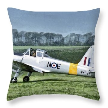 Percival Provost T1 G-bkhp Throw Pillow
